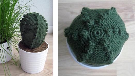 Hæklet kaktus – udførlig diy
